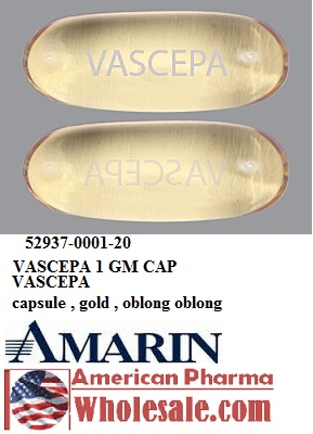 RX ITEM-Vascepa 1 Gm Cap 120 By Amarin Pharma Ireland