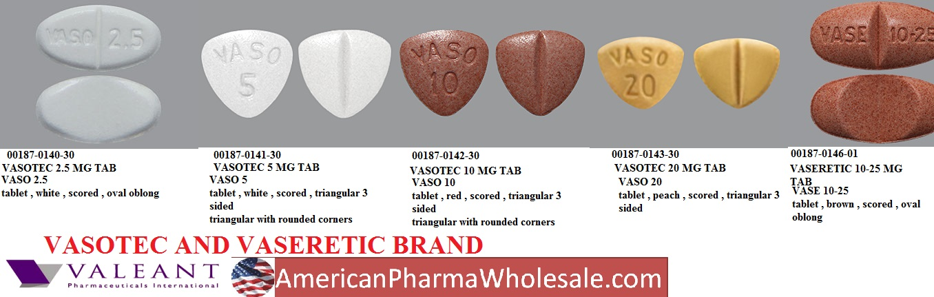 RX ITEM-Vaseretic 10 10Mg 25Mg Tab 100 By Valeant Pharma