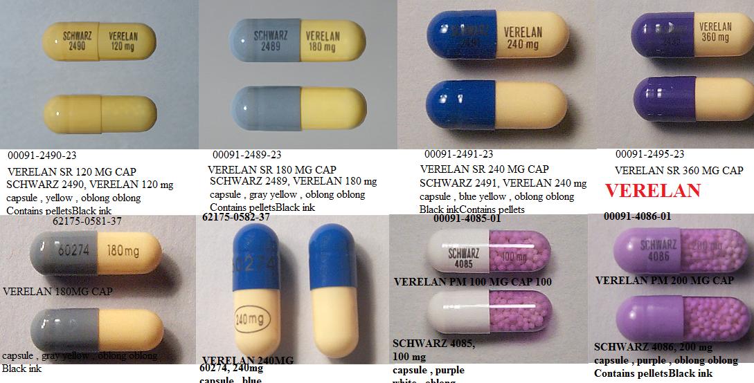 Verapamil Hcl Us Pharmacy
