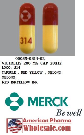 '.Victrelis 200Mg Cap 28X12 By Merck .'
