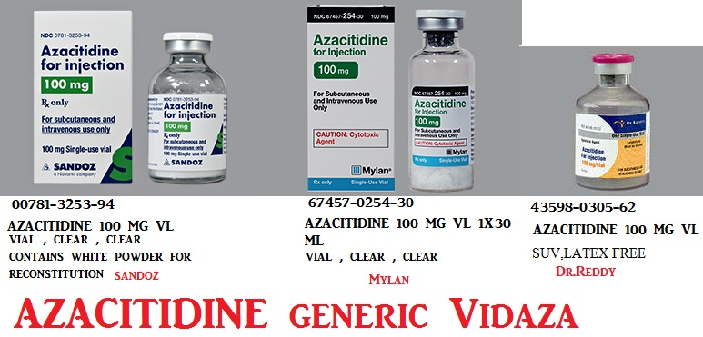Azacitidine 100mg Vial  by Blue Point Lab