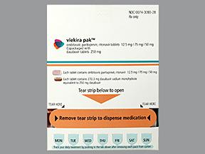 RX ITEM-Viekira Pak 12.5 75 50 Dose Pack By Abbvie Pharma