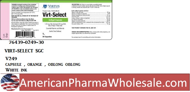RX ITEM-Virt-Select 29 1.25 55 Cap 30 By Virtus Pharma