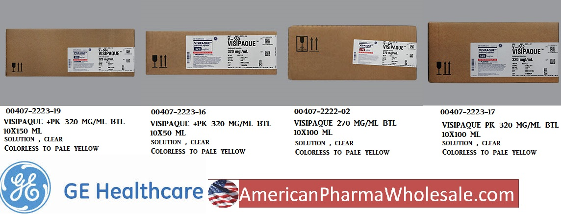 RX ITEM-Visipaque +Pk 270Mg/Ml Btl 10X100Ml By Ge Healthcare