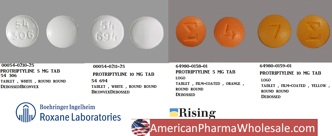 RX ITEM-Protriptyline 5Mg Tab 100 By Akorn Pharma