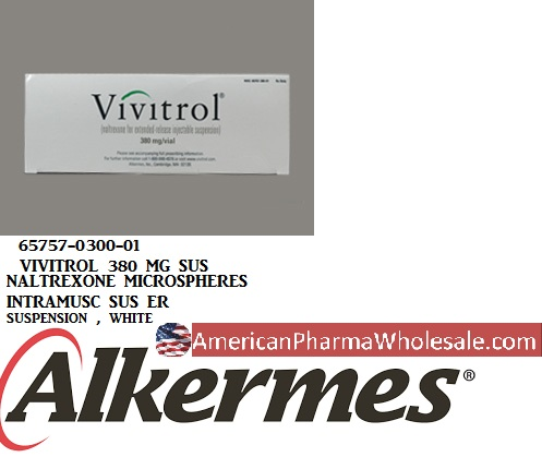 RX ITEM-Vivitrol 380Mg Suspension By Alkermes