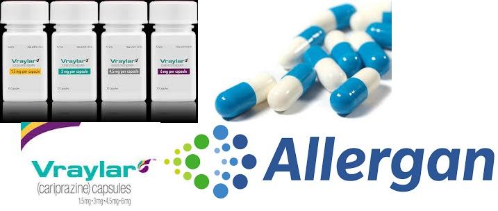 RX ITEM-Vraylar cariprazine  3Mg Cap 30 By Allergan USA