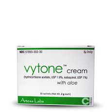 RX ITEM-Vytone Cream 1.9% 1% Cream 30X2Gm By Mission Pharmacal
