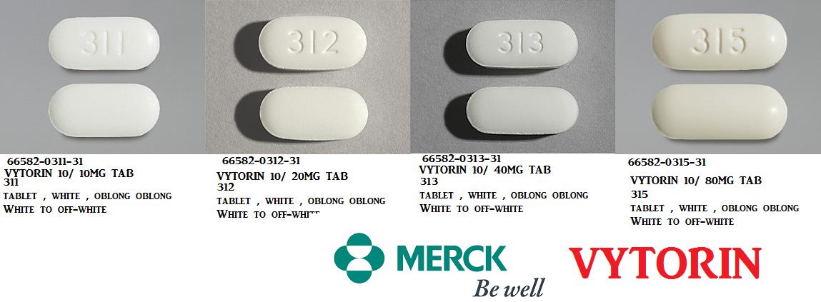 Rx Item-Ezetimibe-Simvastatin Generic Vytorin 10Mg/10mg Tab 30 By Dr Reddys Lab