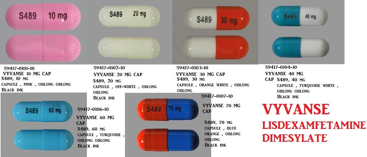 Rx Item-Vyvanse 10mg Cap 100 By Shire Pharma
