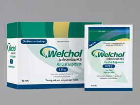 RX ITEM-Welchol 3.75 G Powder 30 By Daiichi Sankyo