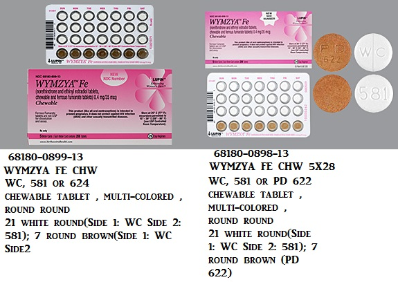 RX ITEM-Wymzya Fe 0.4 35(21) Chewable  5X28 By Lupin Pharma