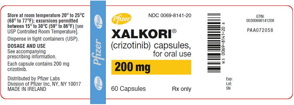 '.Xalkori 200Mg Cap 60 By Pfizer Pharma.'