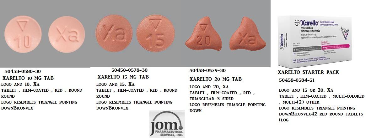 RX ITEM-Xarelto 10Mg Tab 100 By J O M Pharma