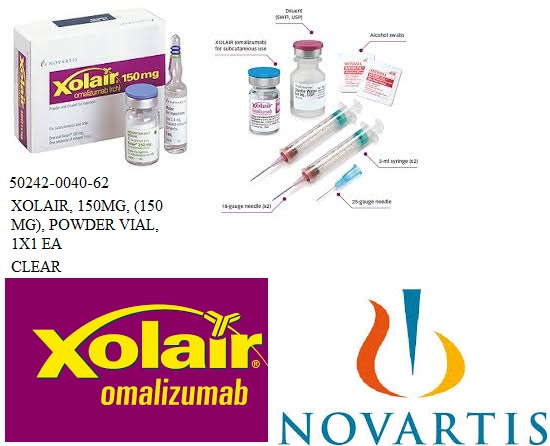 RX ITEM-Xolair 150Mg Vial 1.2Ml By ASD Healthcare