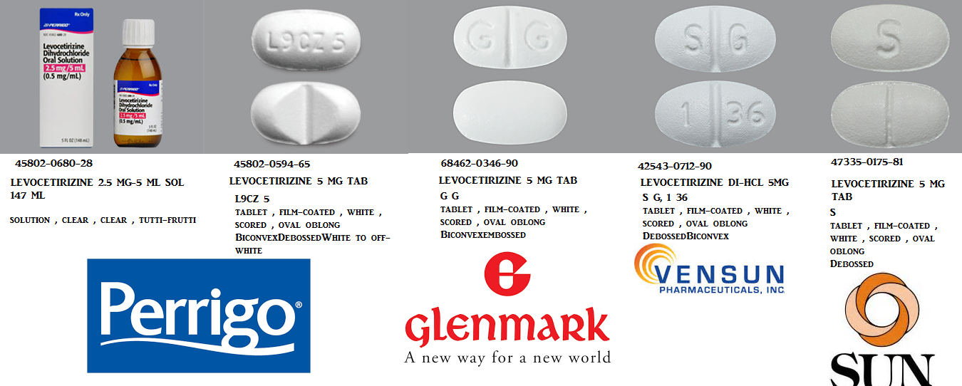 Levocetirizine 2.5mg/5ml Sol 4 oz by Taro Pharma