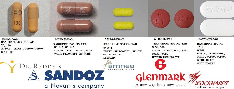 Rx Item Ranitidine 300mg Tab 30 By Strides Pharma