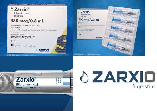 RX ITEM-ZARXIO 300 MCG PFS 0.5 ML BY SANDOZ