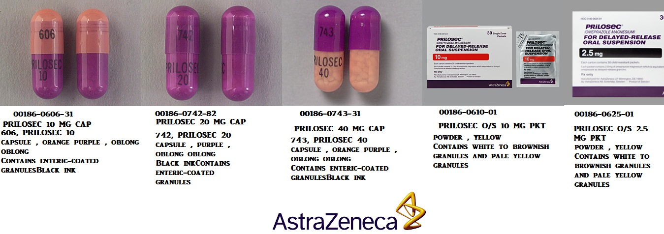 RX ITEM-Prilosec O-S 2.5Mg Packet 30 By Astra Zeneca Pharma