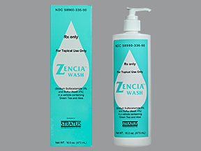 RX ITEM-Zencia 9% 4% Wash 16 Oz By Stratus Pharma