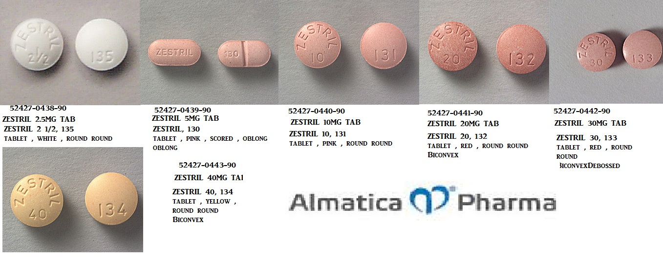 RX ITEM-Zestril 10Mg Tab 90 By Almatica Pharma