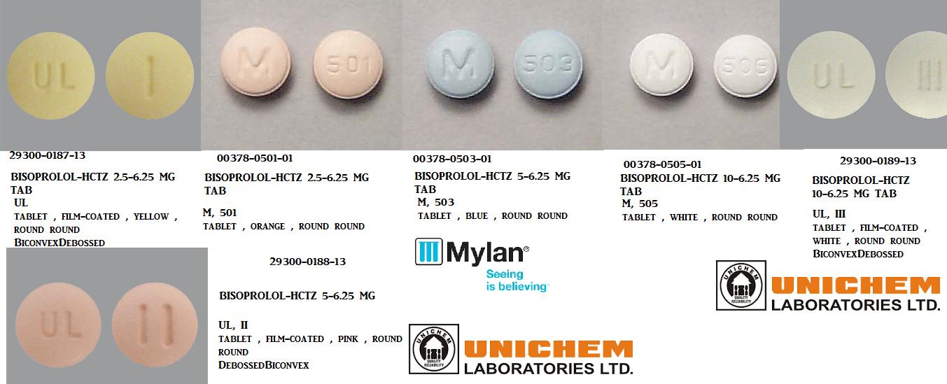 '.Ziac 10/6.25Mg Tab 30 By Teva Pharma .'
