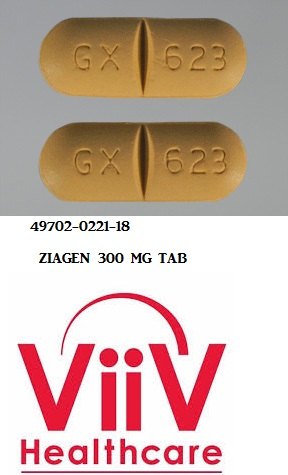 RX ITEM-Ziagen 300Mg Tab 60 By Viiv Healthcare