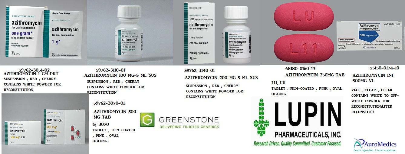 '.Zithromax 1 Gm Packet 3 By Pfizer Pharma.'