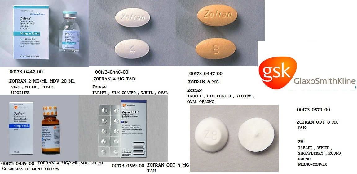 RX ITEM-Zofran 4Mg/5Ml Solution 50Ml By Novartis
