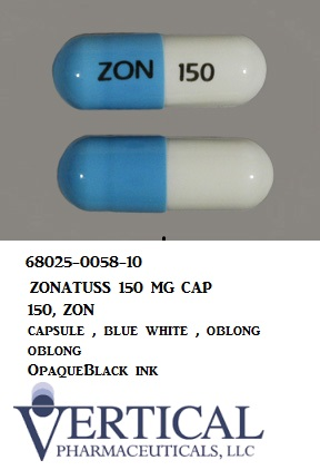 RX ITEM-Zonatuss 150Mg Cap 100 By Vertical Pharma