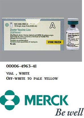 RX ITEM-Zostavax 19400 Herpes Zoster Shingles Unit Vial 10 By Merck
