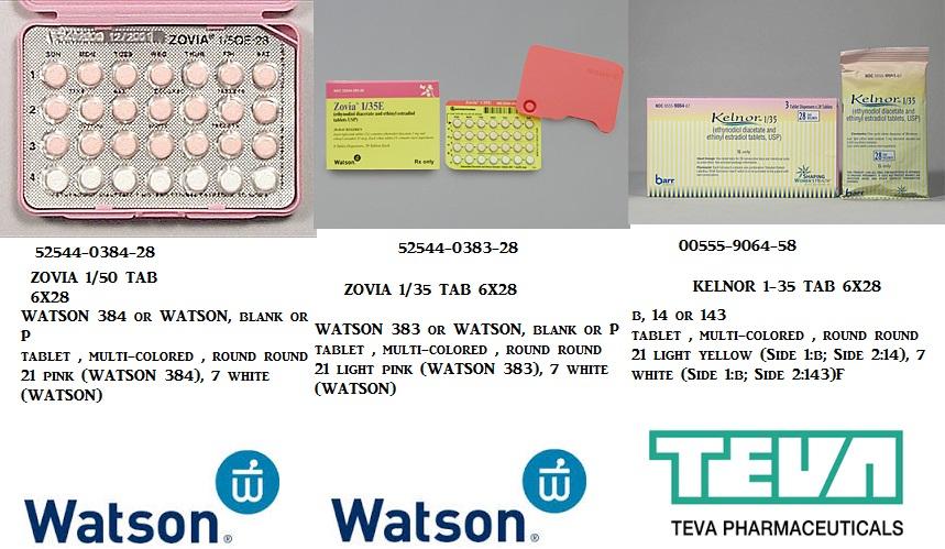 RX ITEM-Zovia 1Mg 35Mcg Tab 6X28 By Actavis Pharma