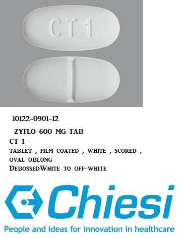 RX ITEM-Zyflo 600Mg Tab 120 By Chiesi USA