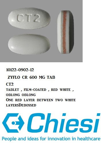 RX ITEM-Zyflo CR 600Mg Tab 120 By Chiesi USA