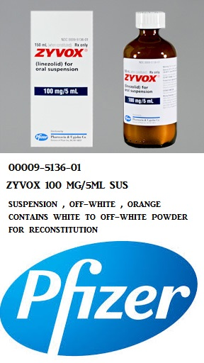 RX ITEM-Zyvox 100Mg/5Ml Suspension 150Ml By Pfizer Pharma
