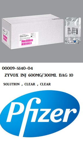 RX ITEM-Zyvox 600Mg 300 Bag 10X300Ml By Pfizer Pharma
