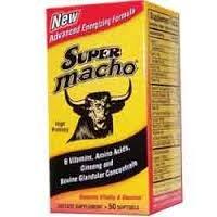 Super Macho Advanced Energizing Formula - 50 Count