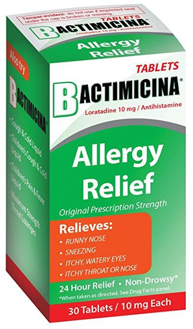 Bactimicina® Allergy Tablets 30 Count