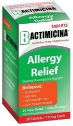 Bactimicina Allergy Liquid 4 oz by DLC Lab Case of 24