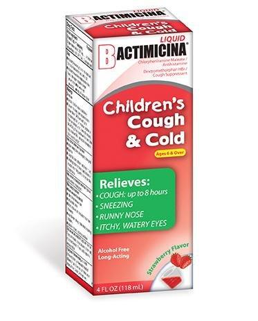Bactimicina® Children's Cough And Cold Liquid 4 oz