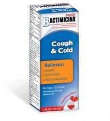 Bactimicina Cough & Cold Liquid 4 oz .