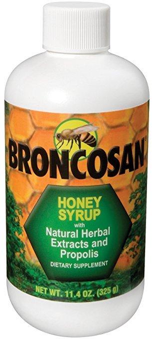 Broncosan Syrup With Propolis 11 oz .
