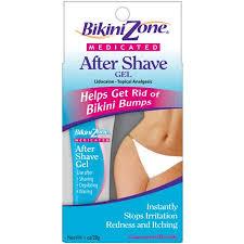Bikini Zone Medicated After-Shave Gel Anti-Bumps 1 oz .