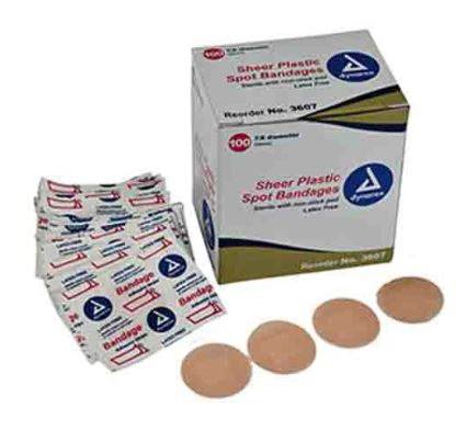 Adhesive Bandage 3/8 X 1 1/2 St