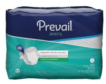 First Qualityadult ontinent Brief First Quality� Tab Closure Large Disposable