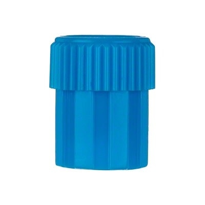 Blue Replacement Cap Male Luer Lock