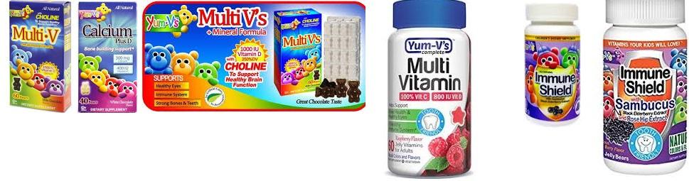 Yumv's Calcium Plus D White Choc 40 Chew