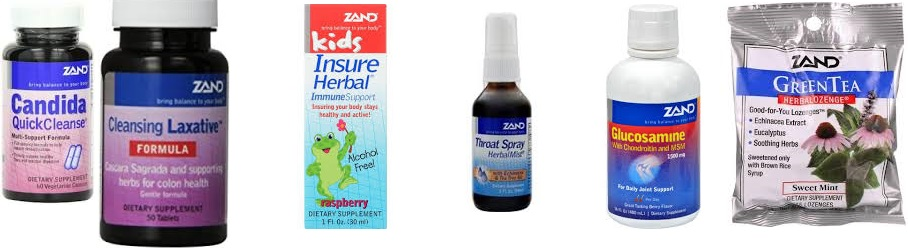Zand Candida Quick Cleanse 60 Vcap