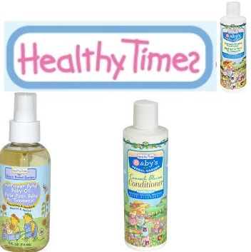 Healthy Times Baby Conditioner Chamomile Blsm 8 Fz