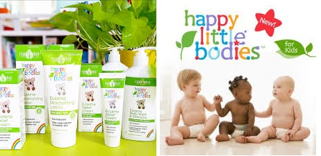 Happy Little Bodies Eczema Moistrizing Lotion 6 Fz